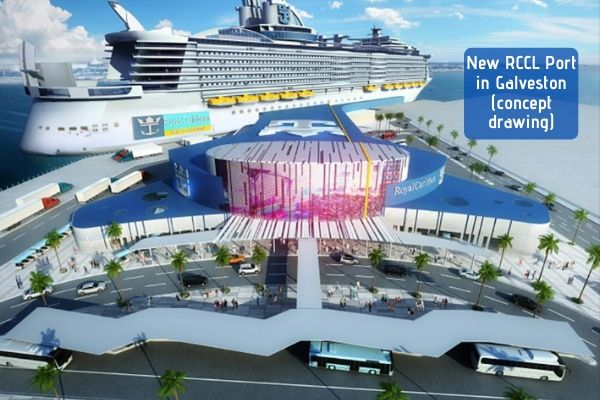 Allure of the Seas announced – new Galveston RCCL Terminal