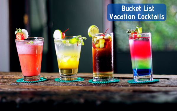 All-Inclusive Resort Cocktail Bucket List