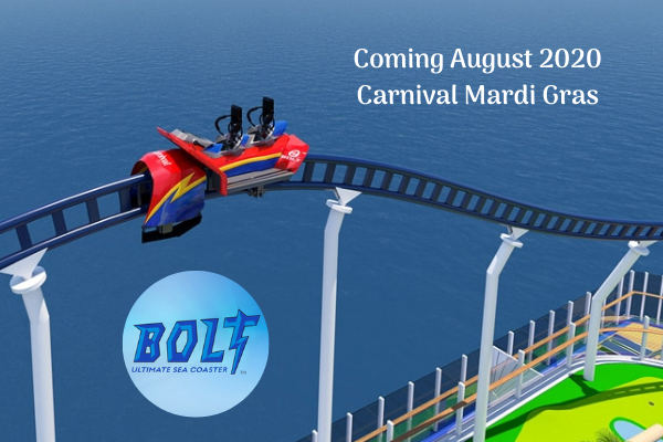 Carnival's Roller Coaster at Sea