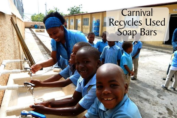 Carnival Cruise Line Recycles Used Soap Bars