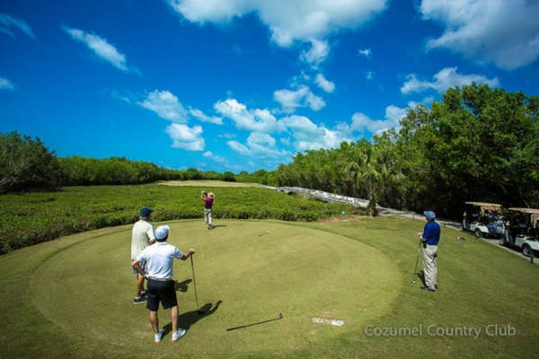 Golf Excursion in Cozumel