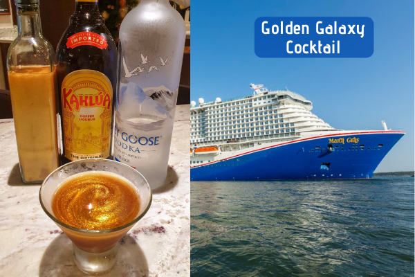 Golden Galaxy Cocktail