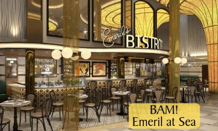 Enjoy Emeril's Bistro 1396 at sea!