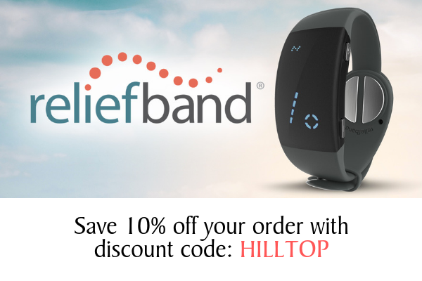 Save 10% off Reliefband (Motion Sickness relief!)