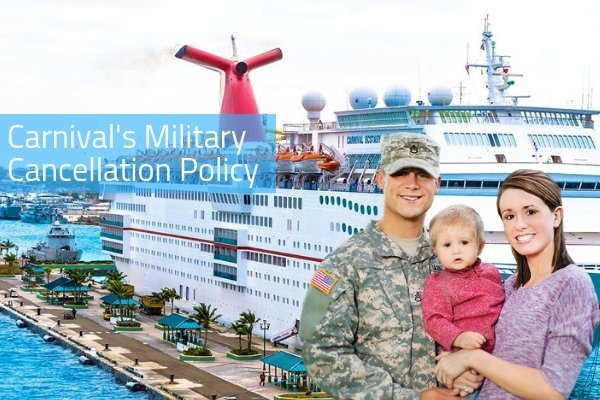 Carnival Cruise Line's Generous New Cancellation Policy for Military Personnel