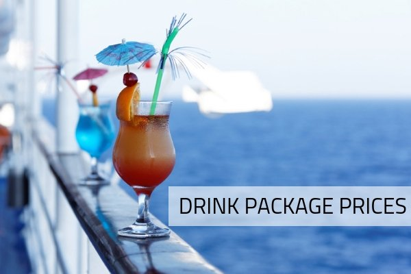 Cost of Drink Packages by Cruise Line