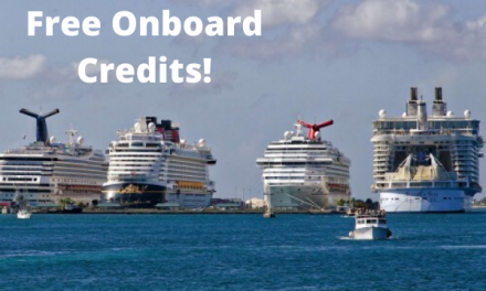 January Special – FREE Onboard Credits